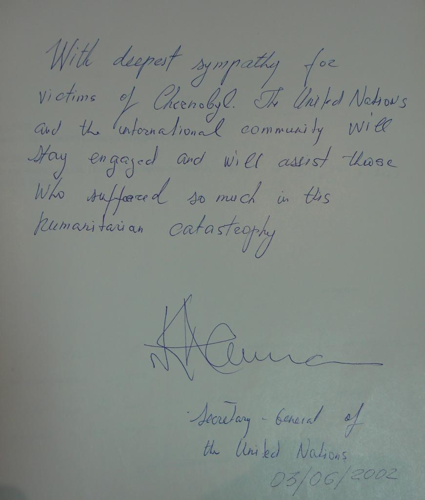 Mr. Kofy Annan